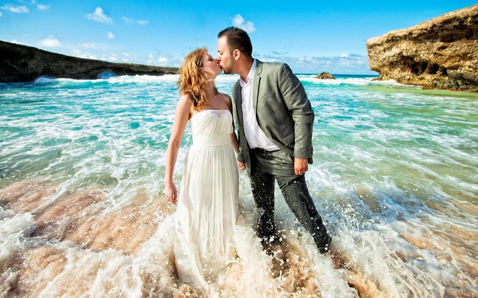 Best Aruba Destination Wedding photos