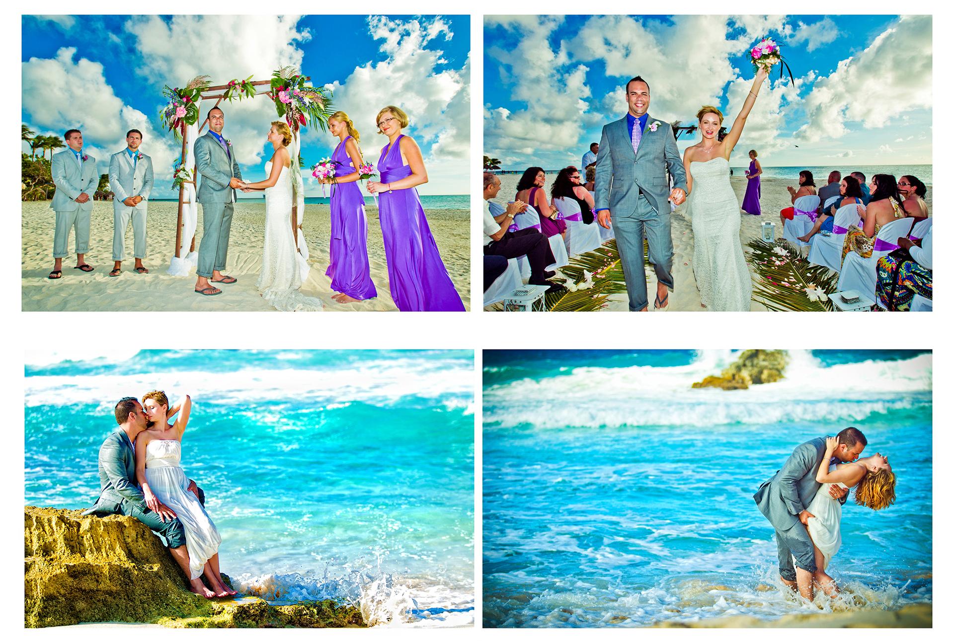 ARUBA PLATINUM WEDDING #06