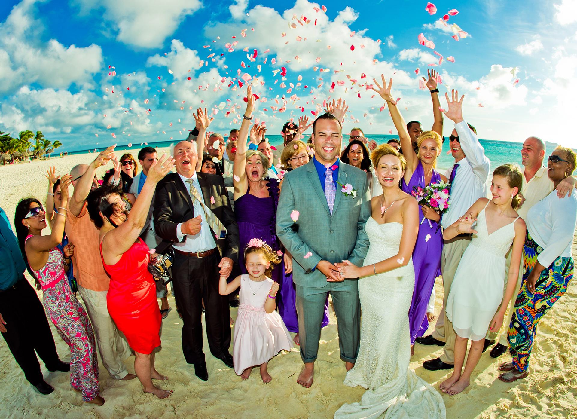 ARUBA PLATINUM WEDDING #07