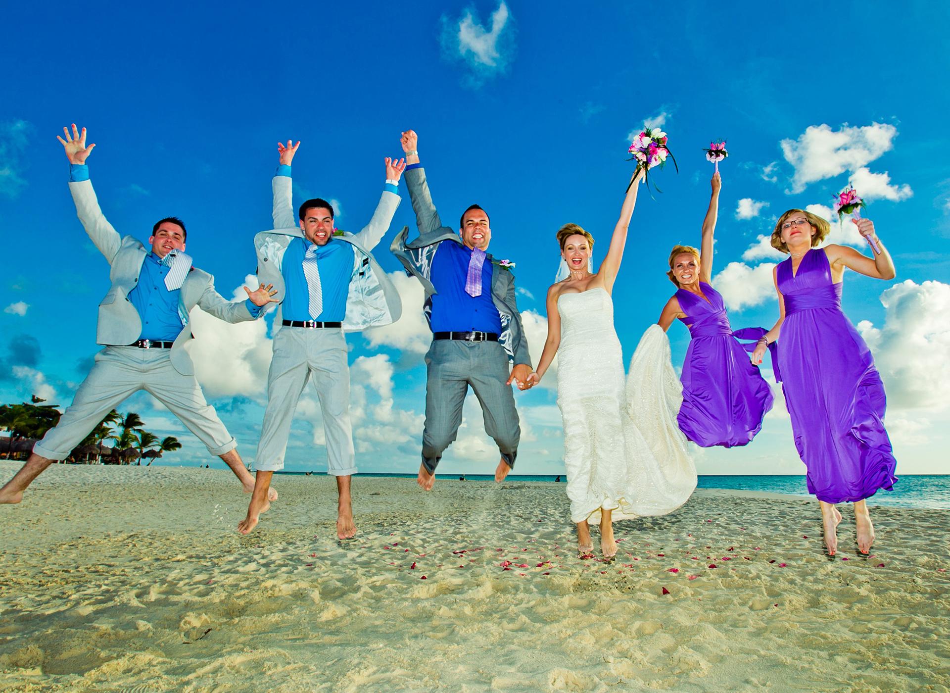 ARUBA PLATINUM WEDDING #08