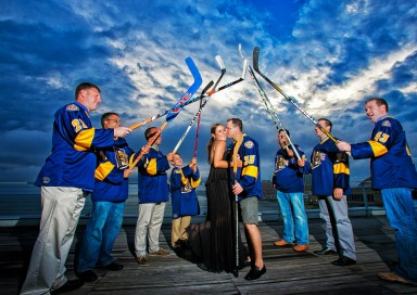 drexel dragons ice hockey engagement