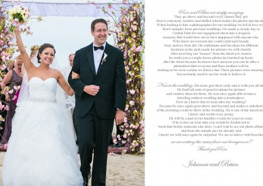 The Sands of Atlantic Beach Wedding - New Jersey Wedding Photographer