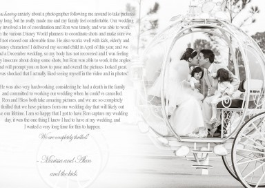 Disney World Wedding - Orlando Wedding Photographer