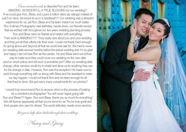 Vietnamese Wedding - Harrisburg Wedding Photographer