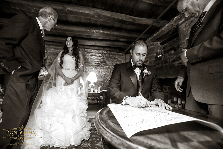 Ketubah signing jewish weddings