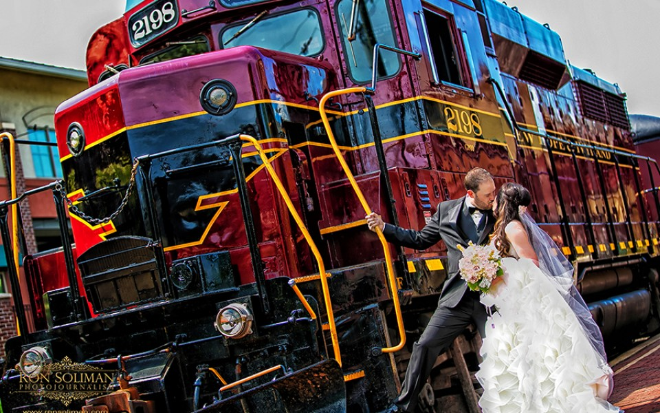 New Hope & Ivyland Railroad wedding photos