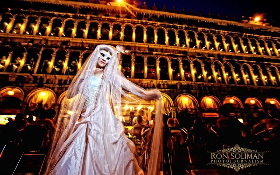 Venice wedding and bridal shoot
