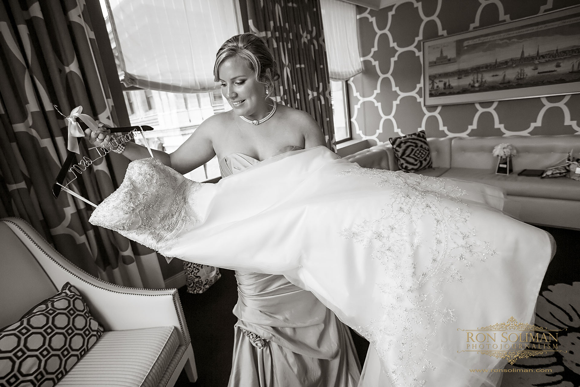 hotel monaco wedding photo