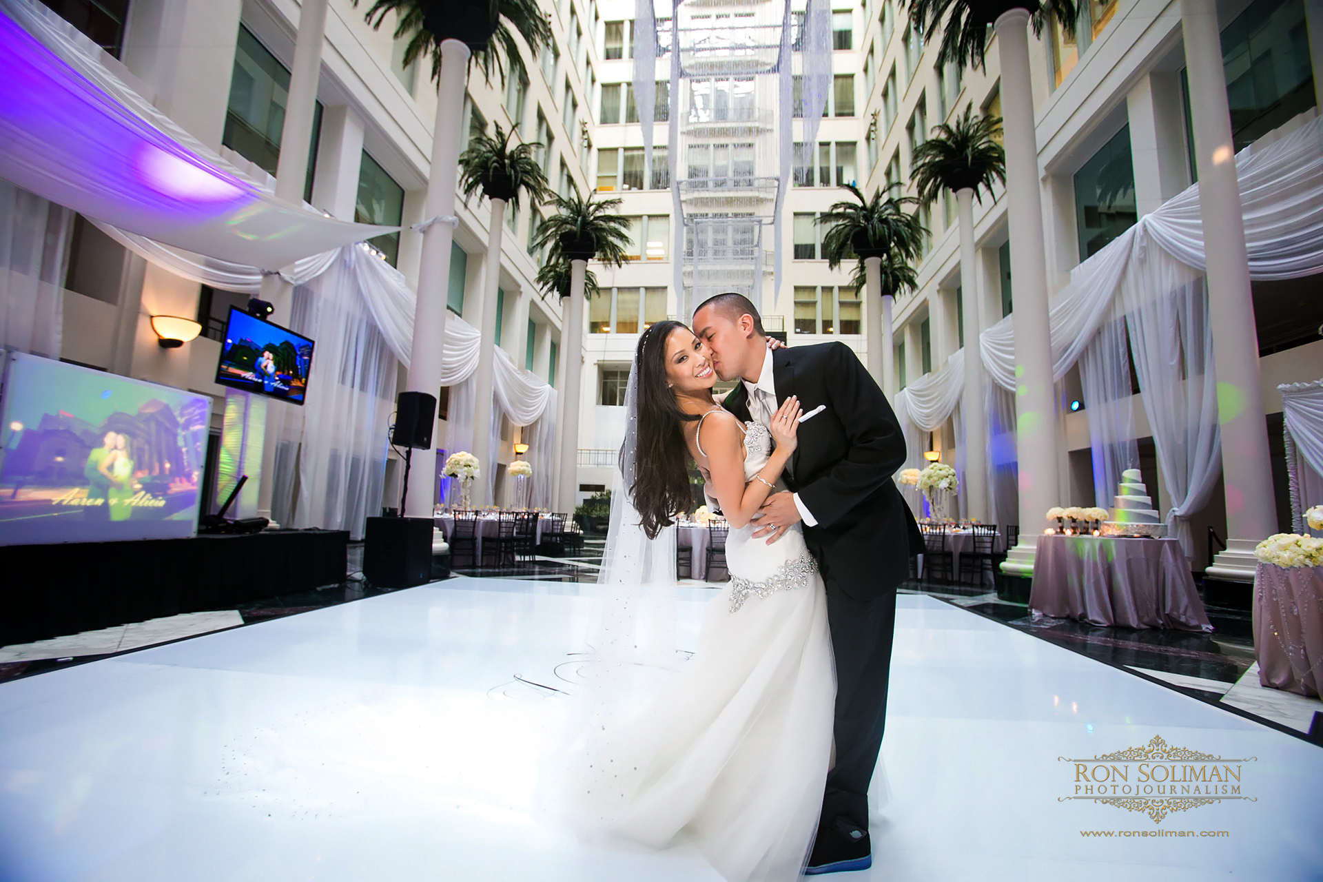Atrium At Curtis Center Wedding