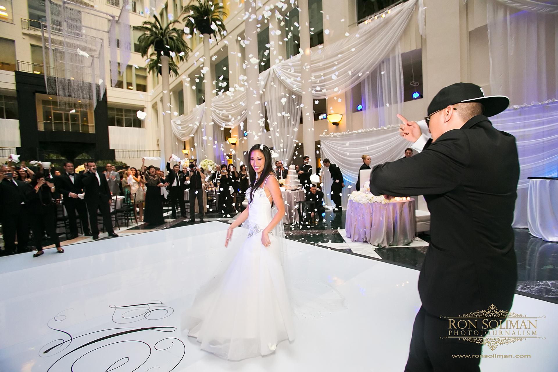 Atrium at CURTIS CENTER WEDDING