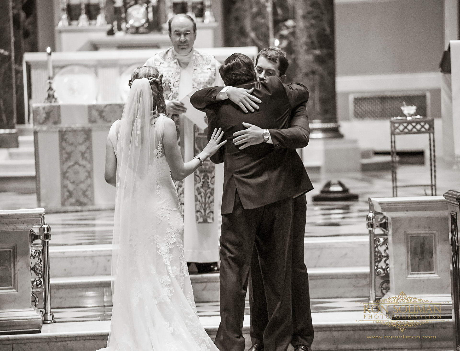 Cathedral Basilica of Saints Peter and Paul wedding