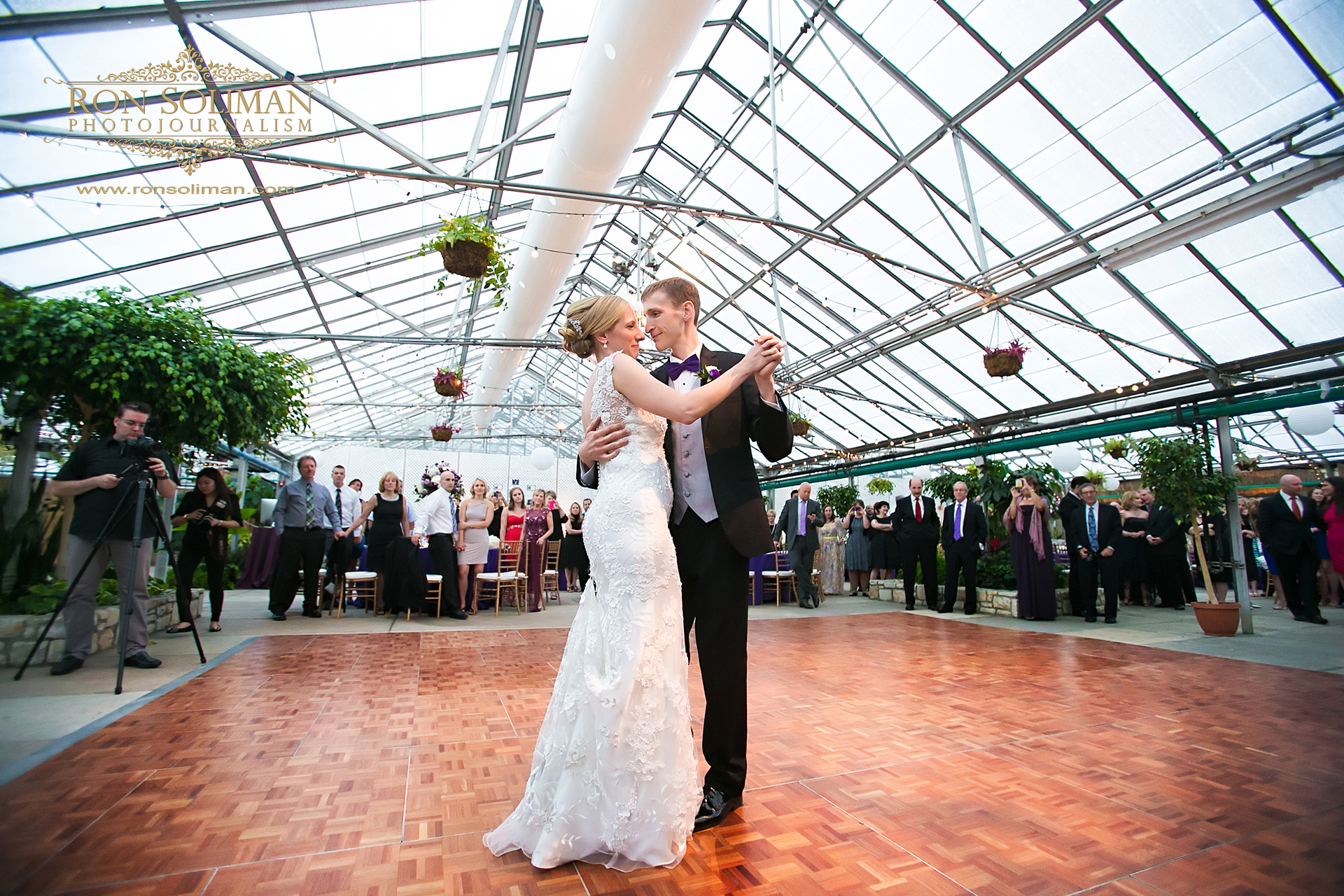 first dance photo at Horticulture Center