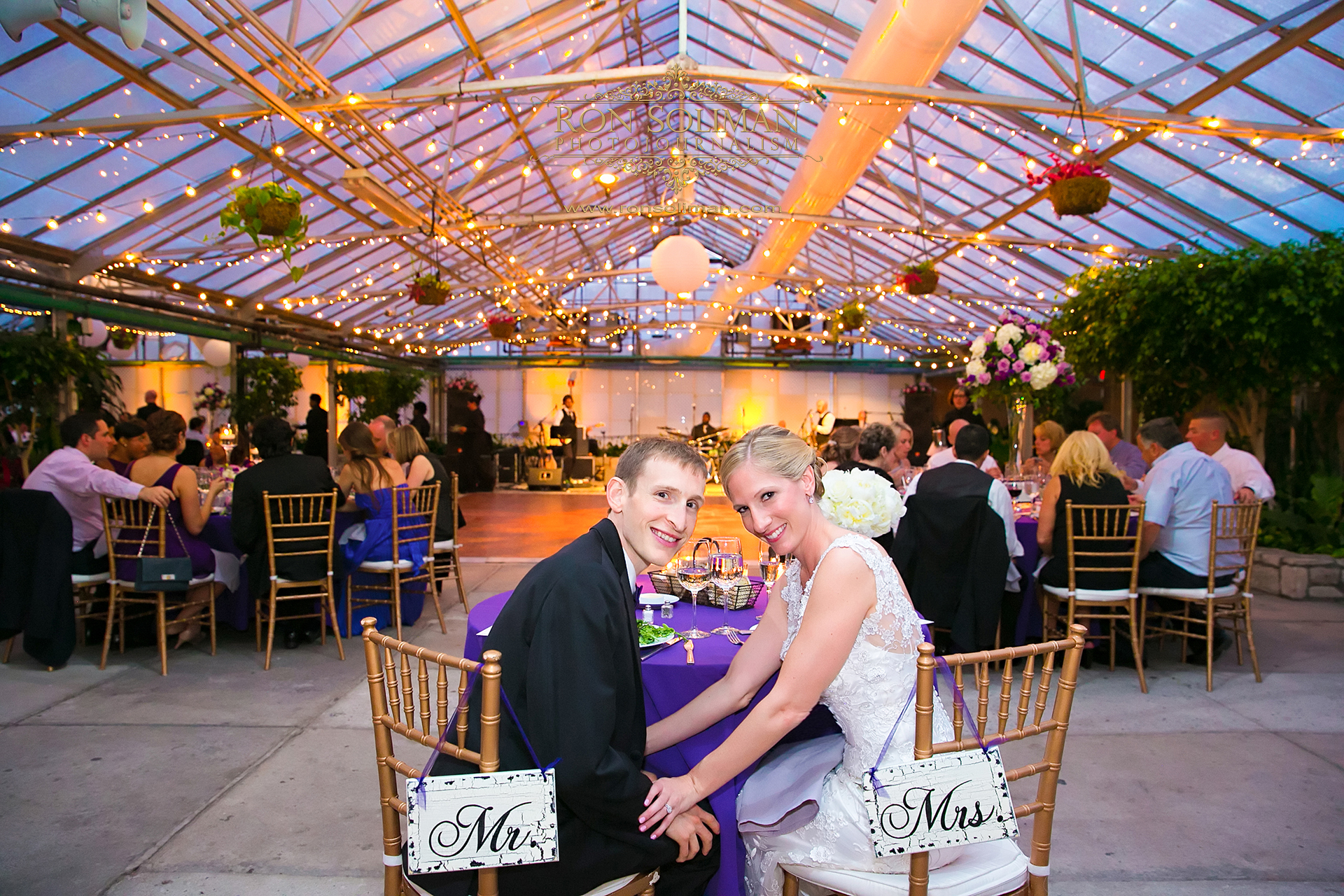 Philadelphia Horticulture Center Wedding