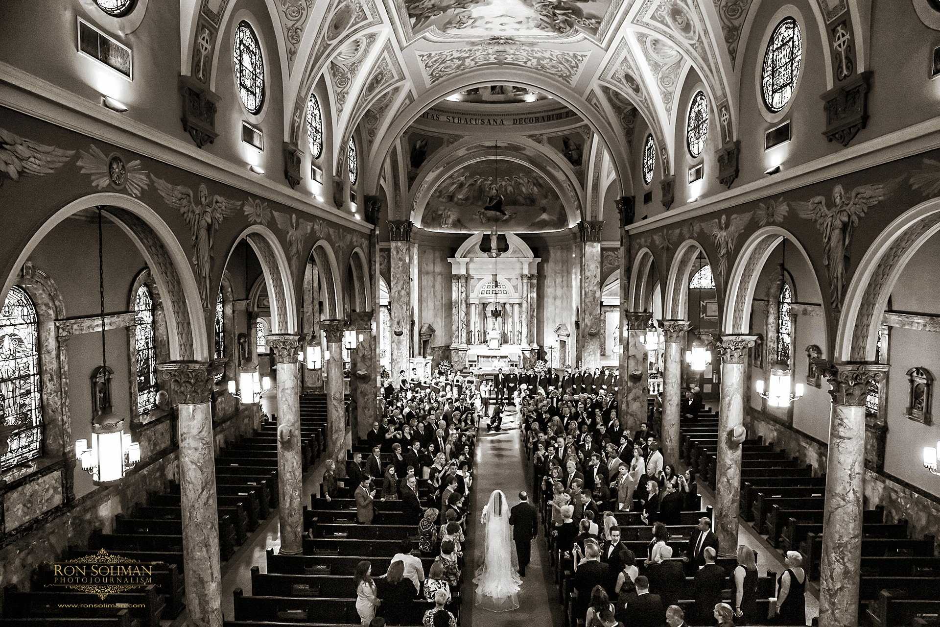 St Lucy's Catholic Church Newark Wedding