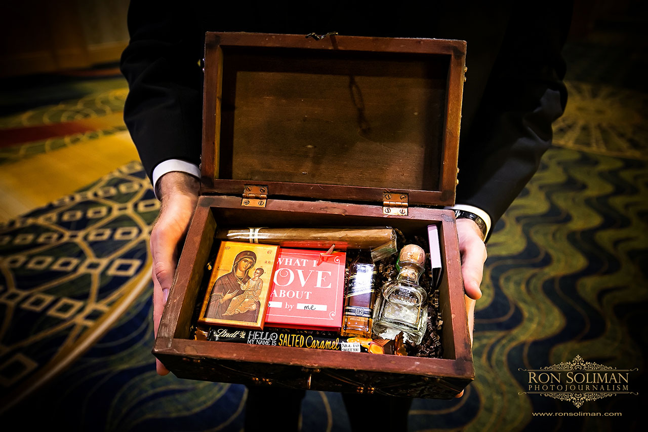 Groom's gift from the bride