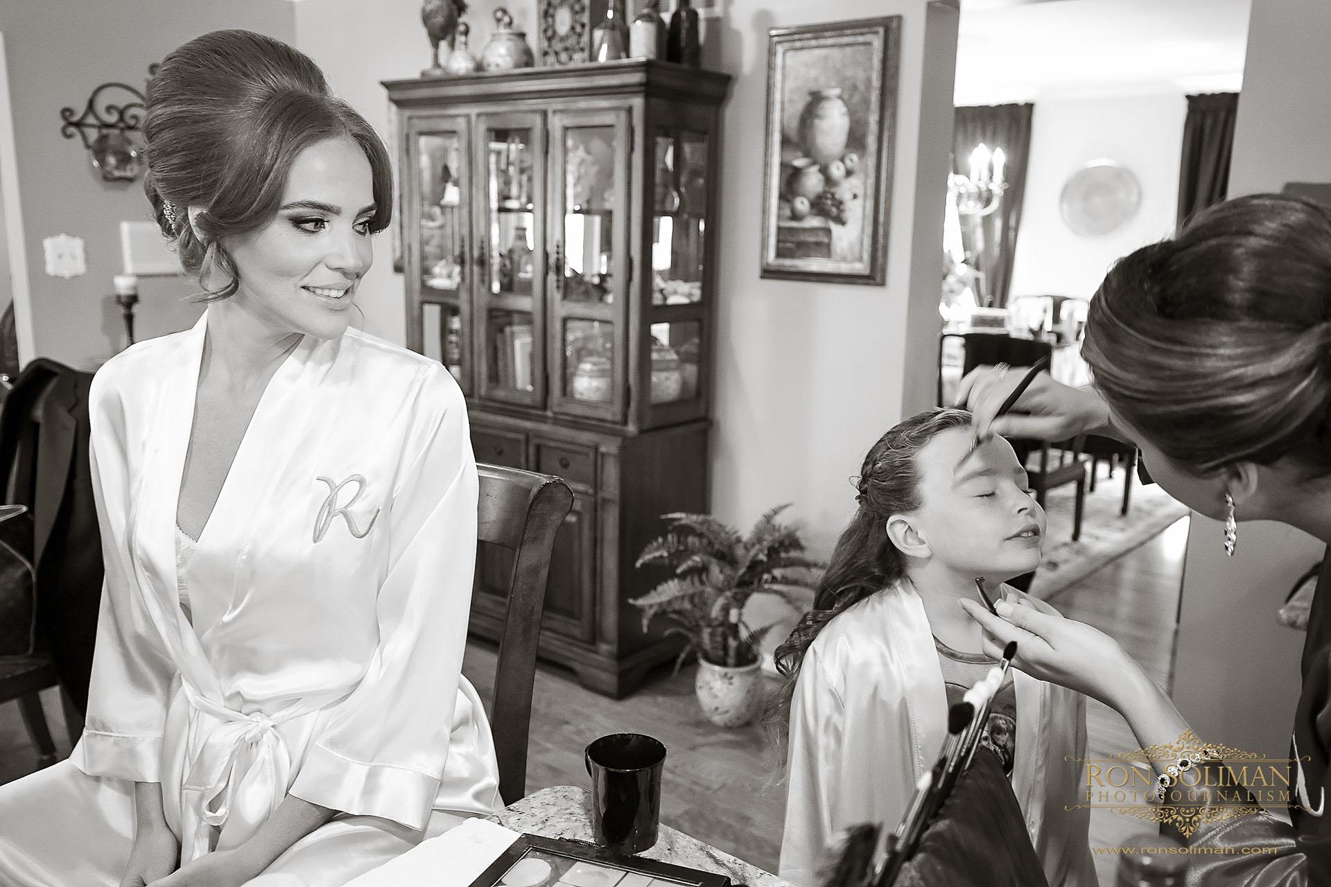 gorgeous bride make-up