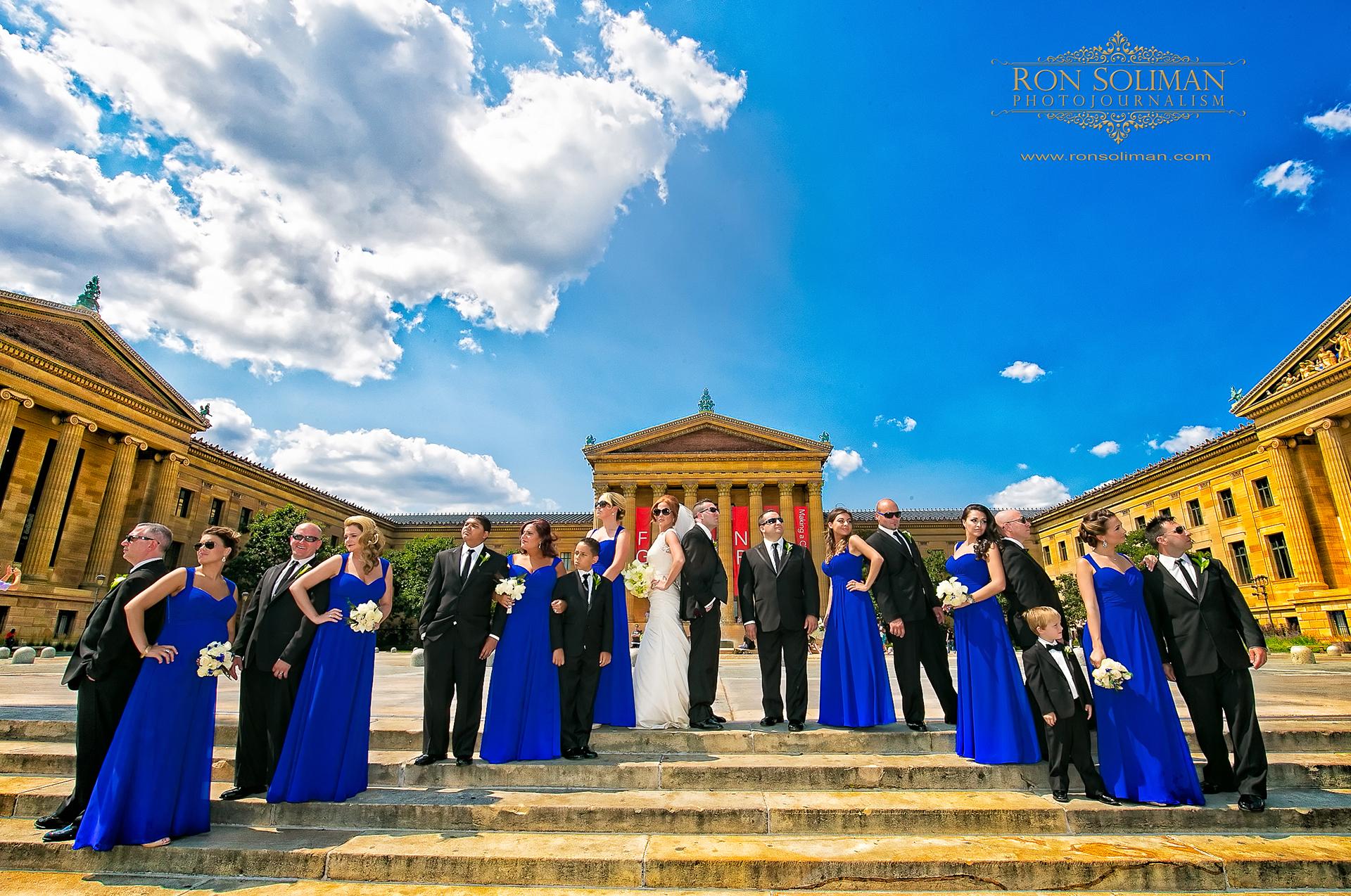 Philadelphia Museum of Art wedding