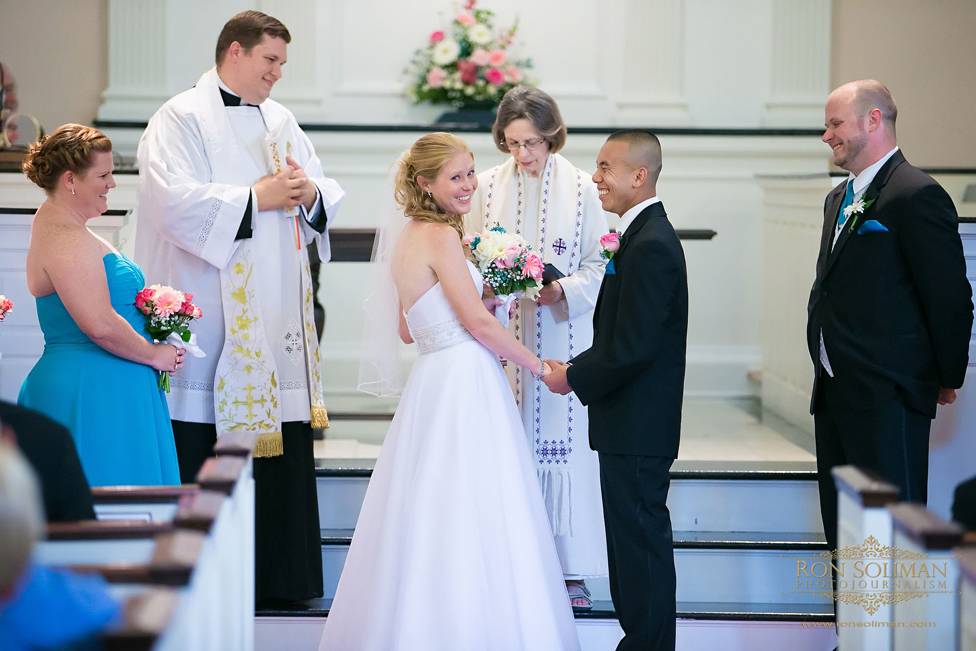 Presbyterian Church of Dover wedding