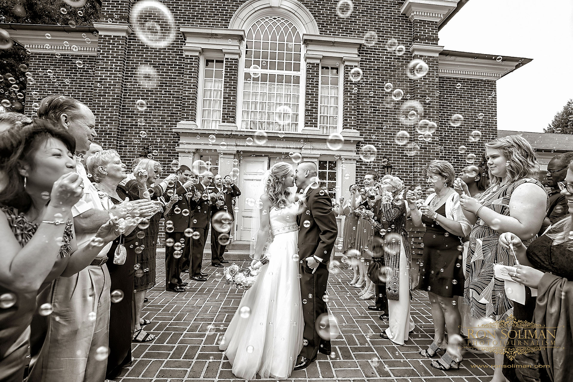 Bubbles for wedding