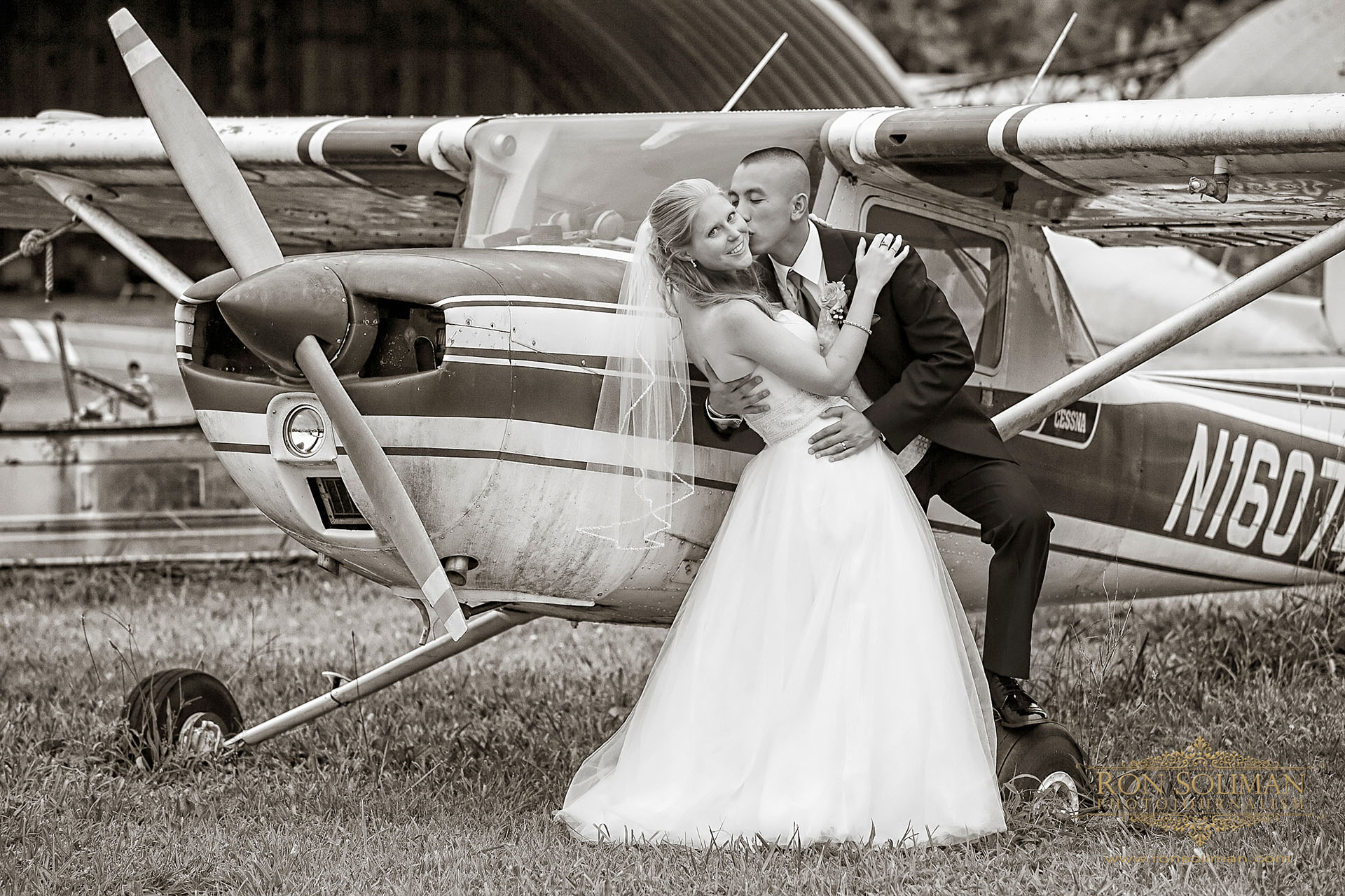 dover small airport wedding