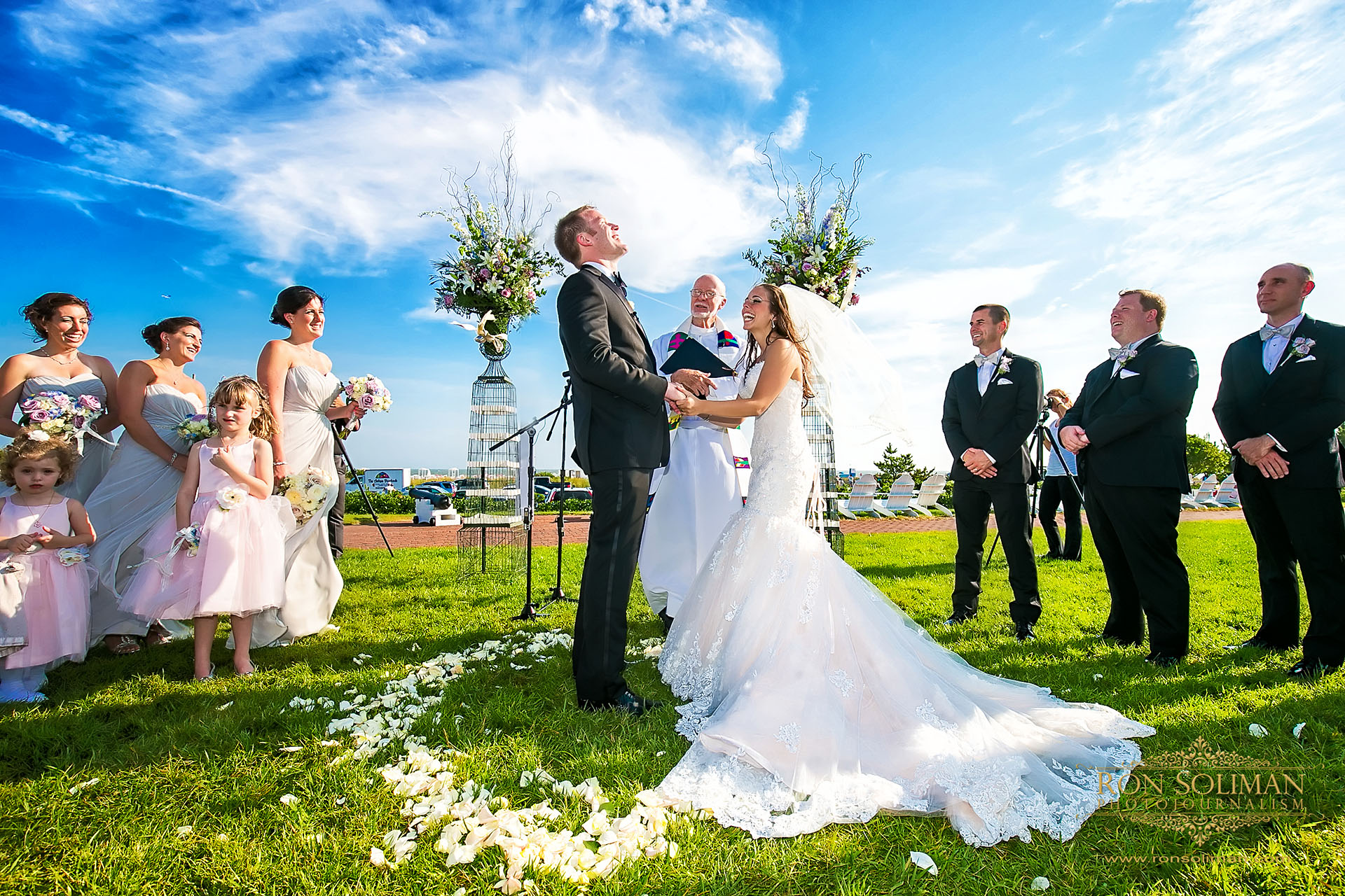 CONGRESS HALL WEDDING in cape may, new jersey