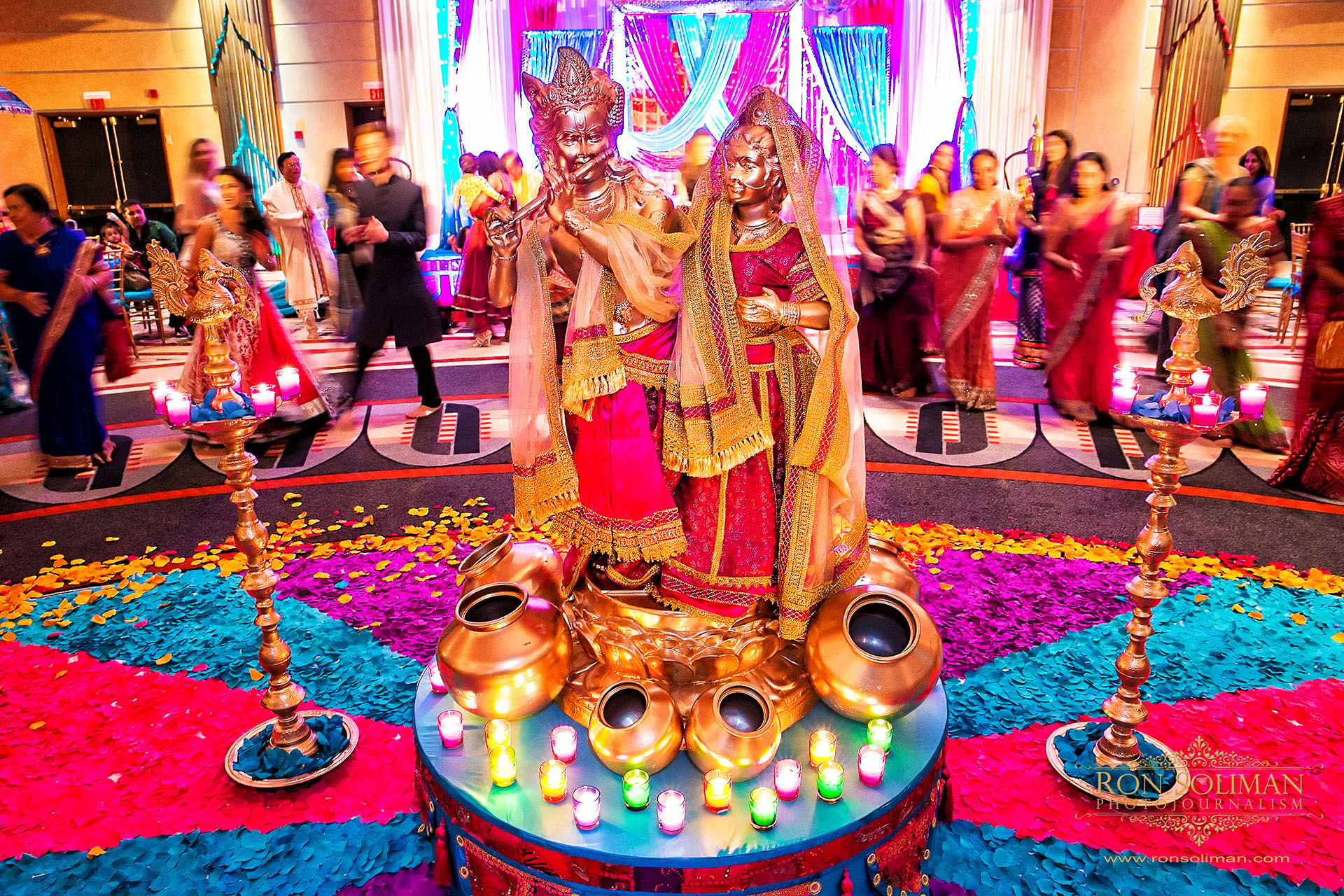 Garba Dance Indian Wedding