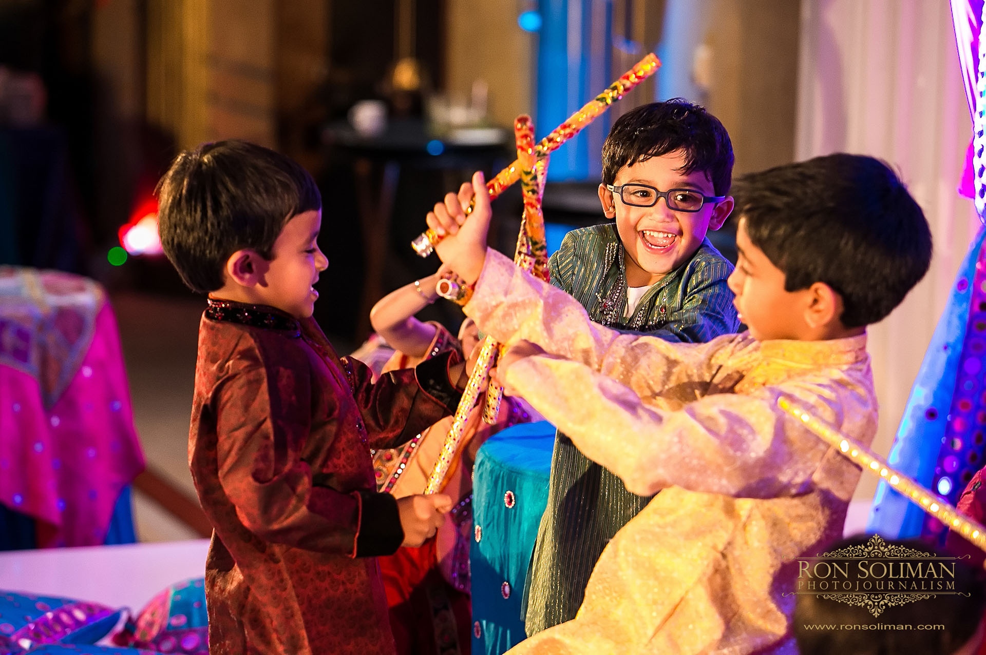 Garba dance Indian wedding