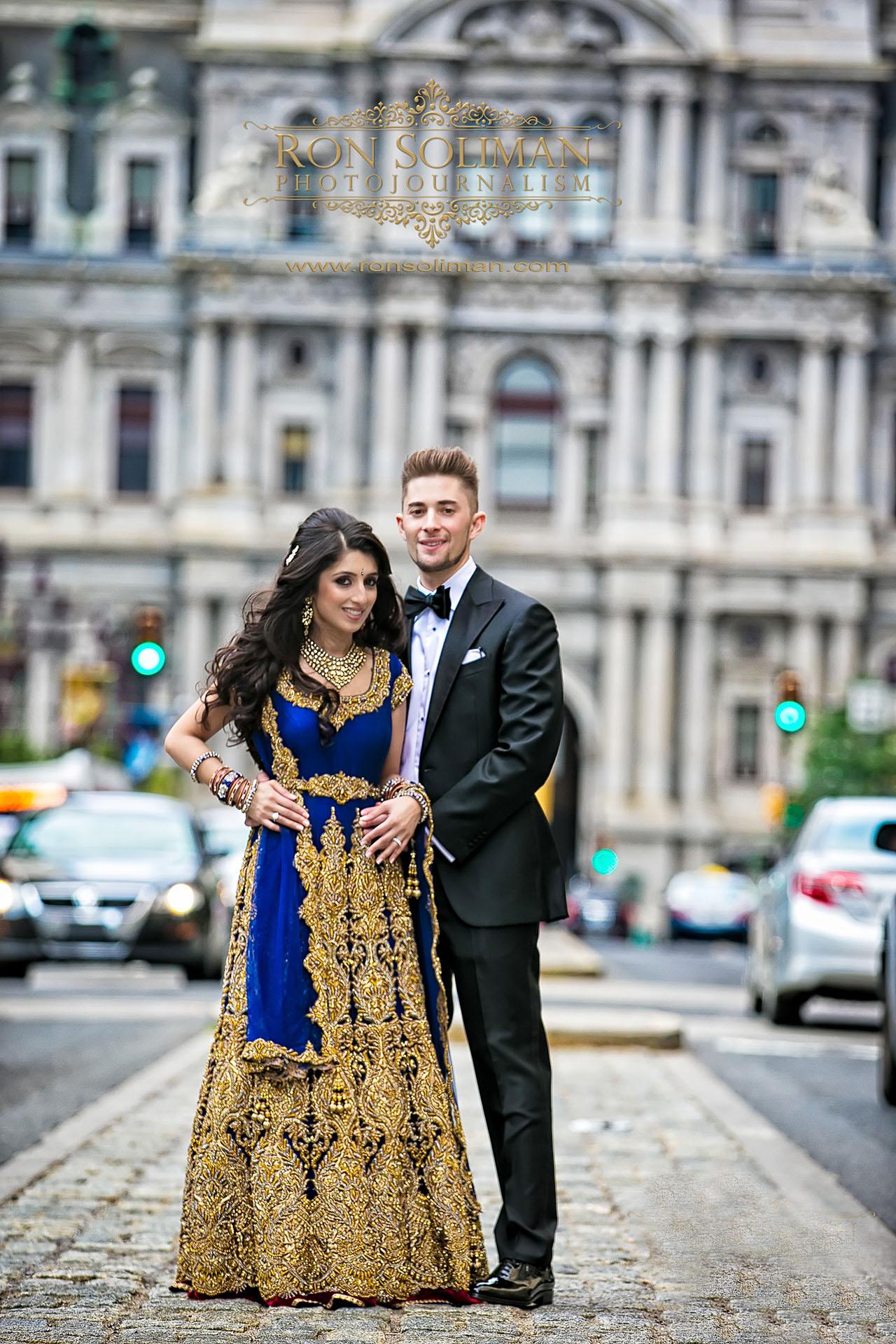 Indian wedding bridal party
