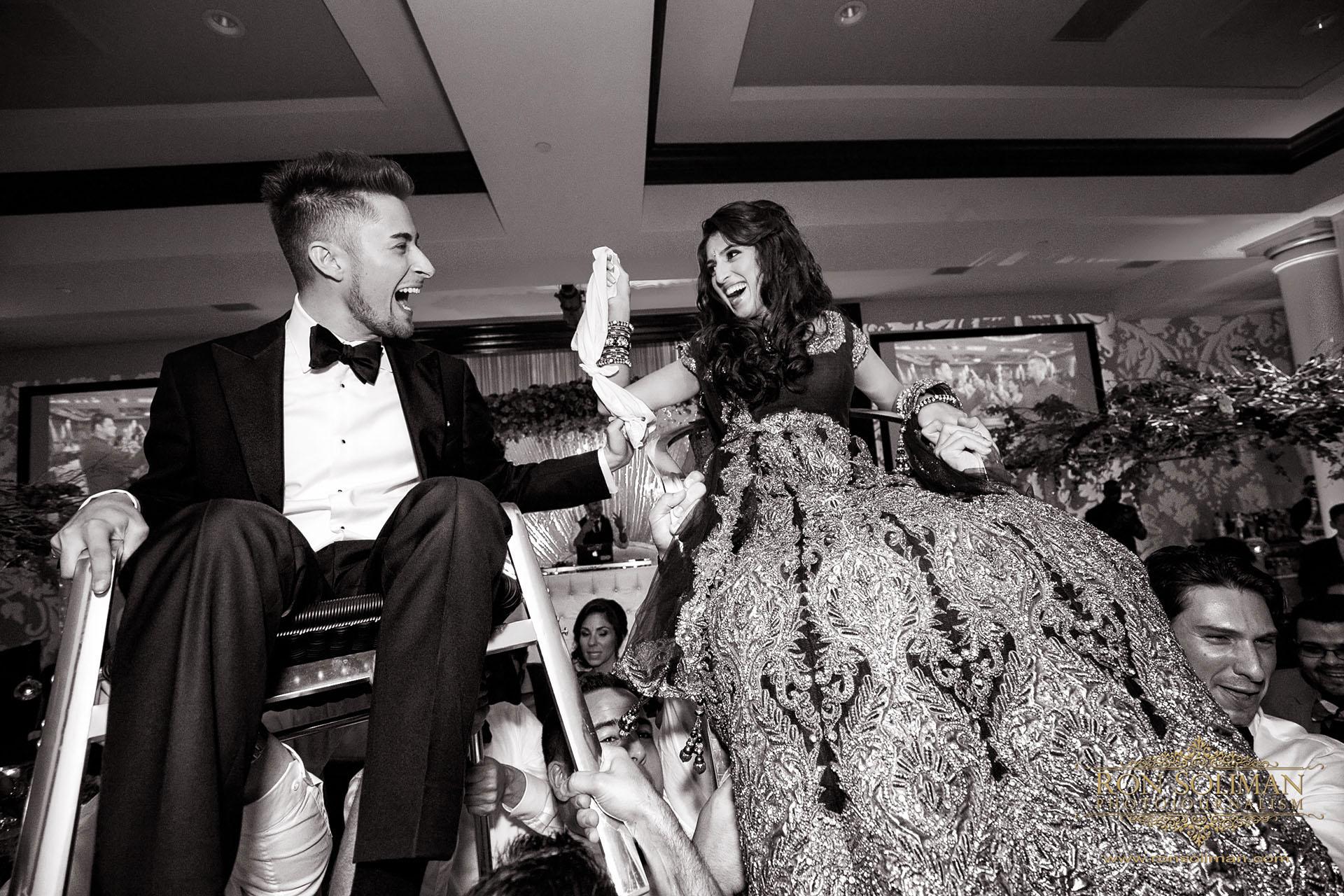 hora wedding chair dance