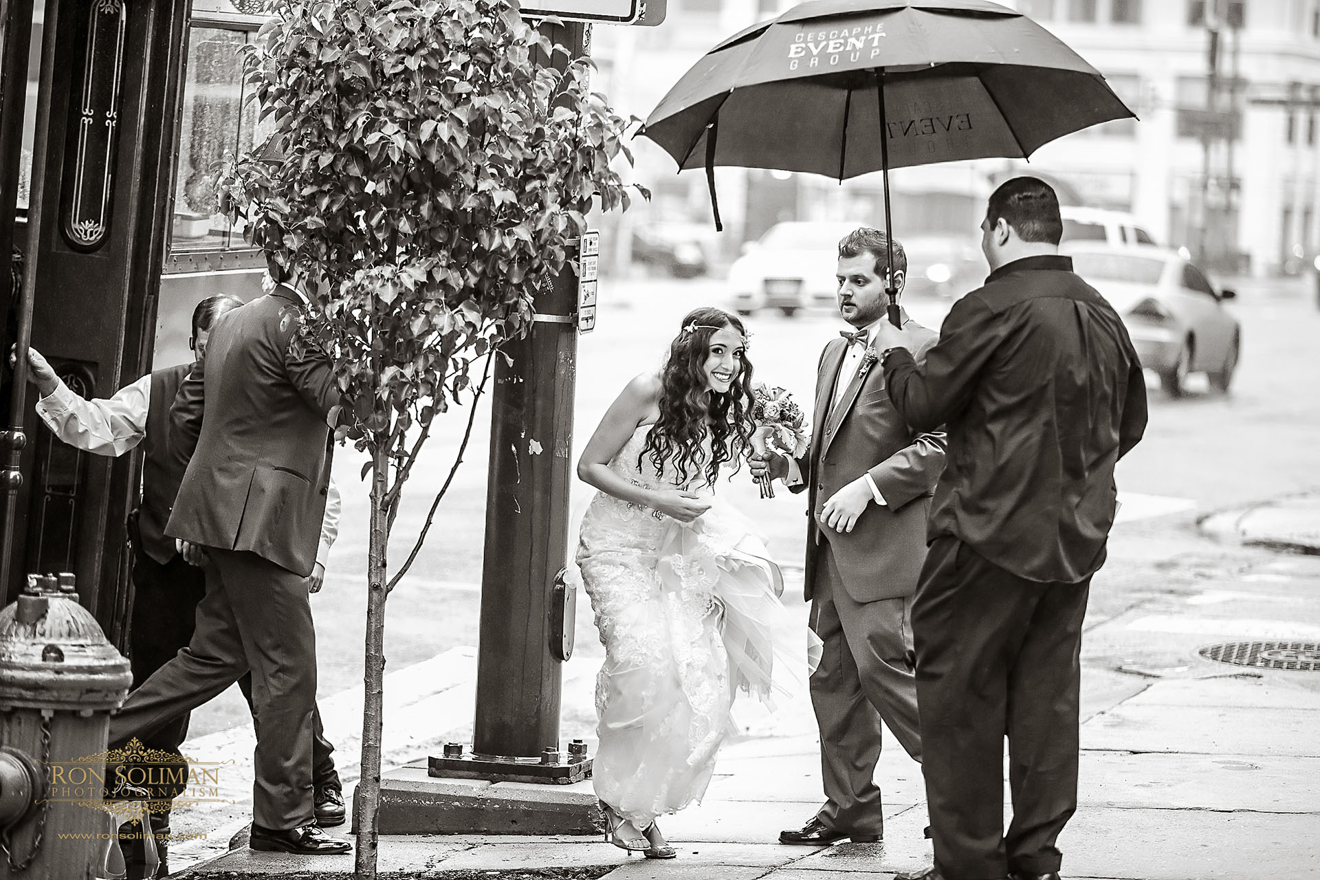 rain on wedding day