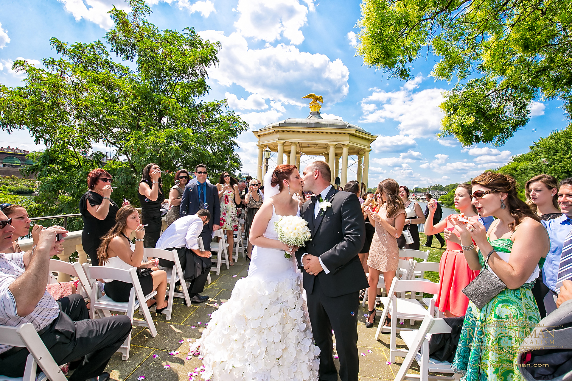 Philadelphia Waterworks wedding photo