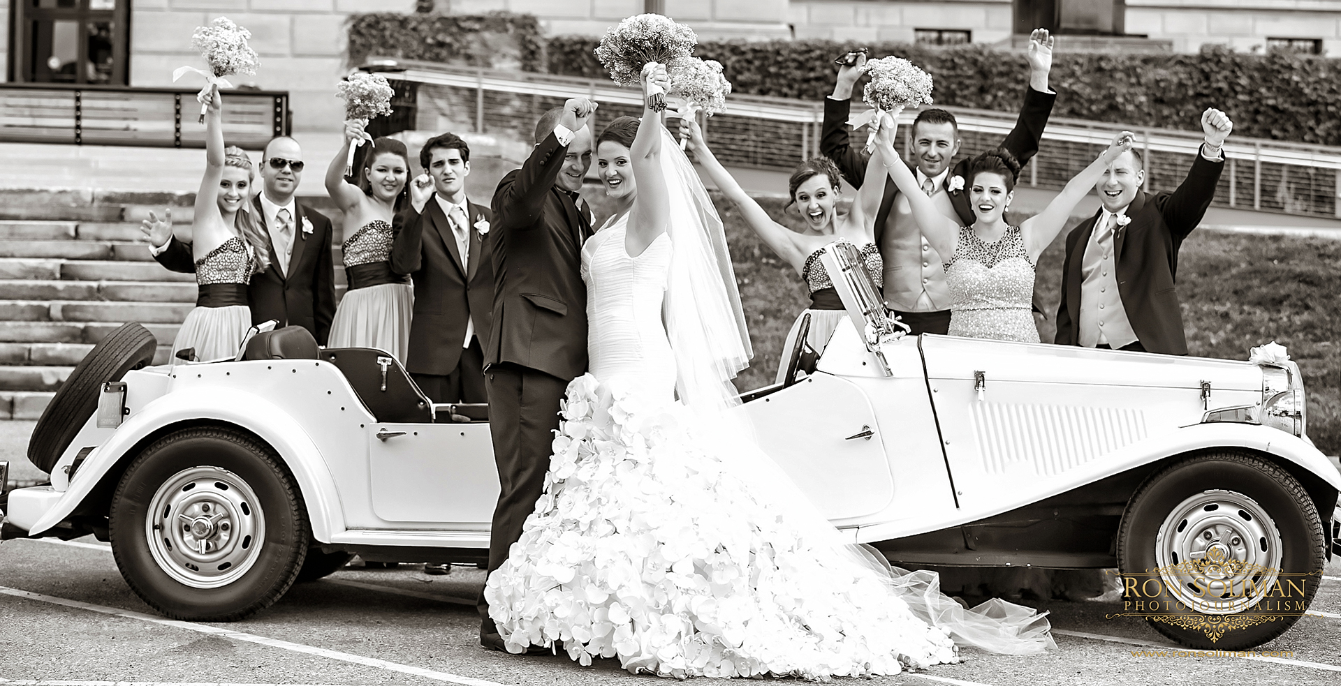 1952 MG wedding car