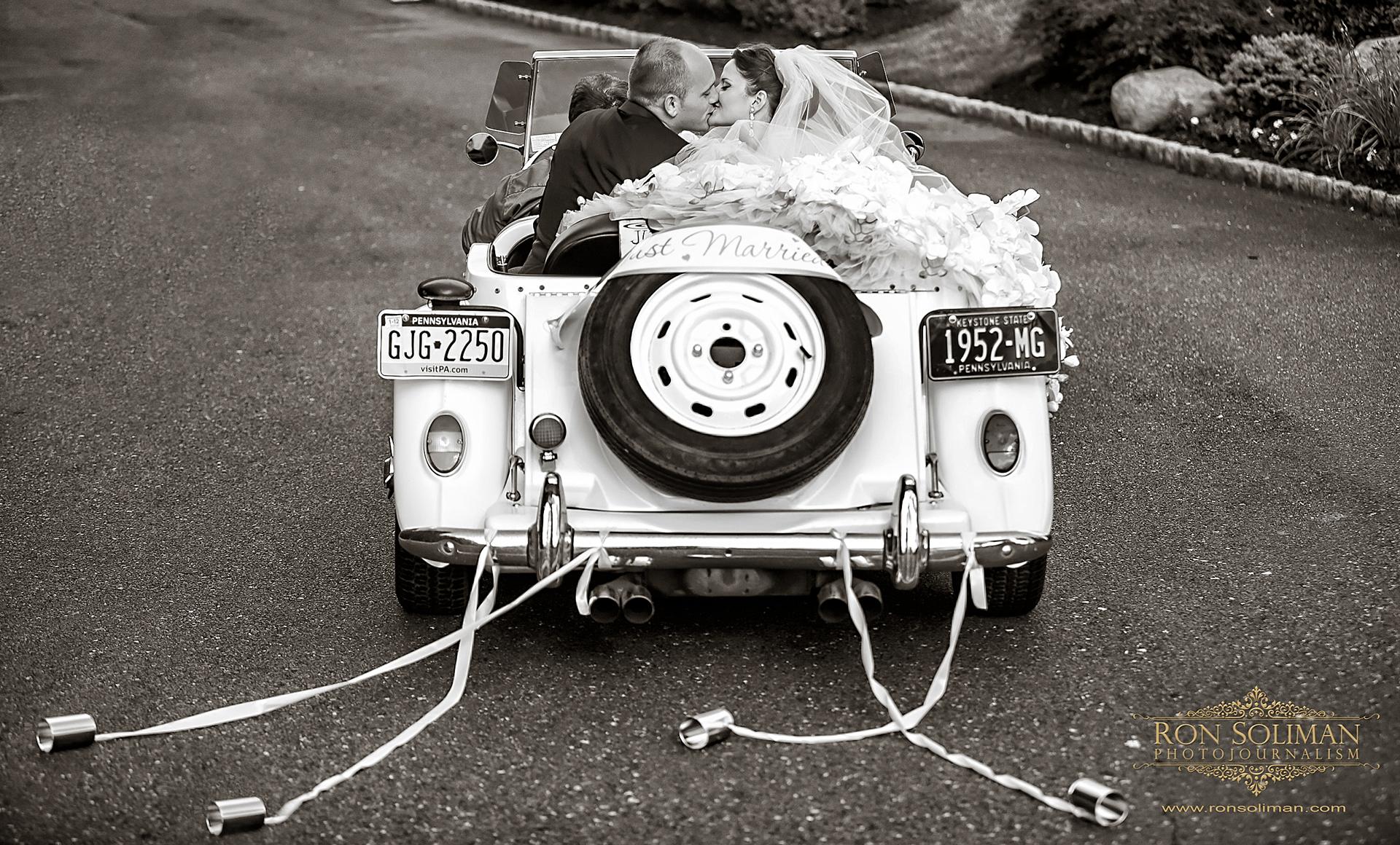 1952 MG wedding car