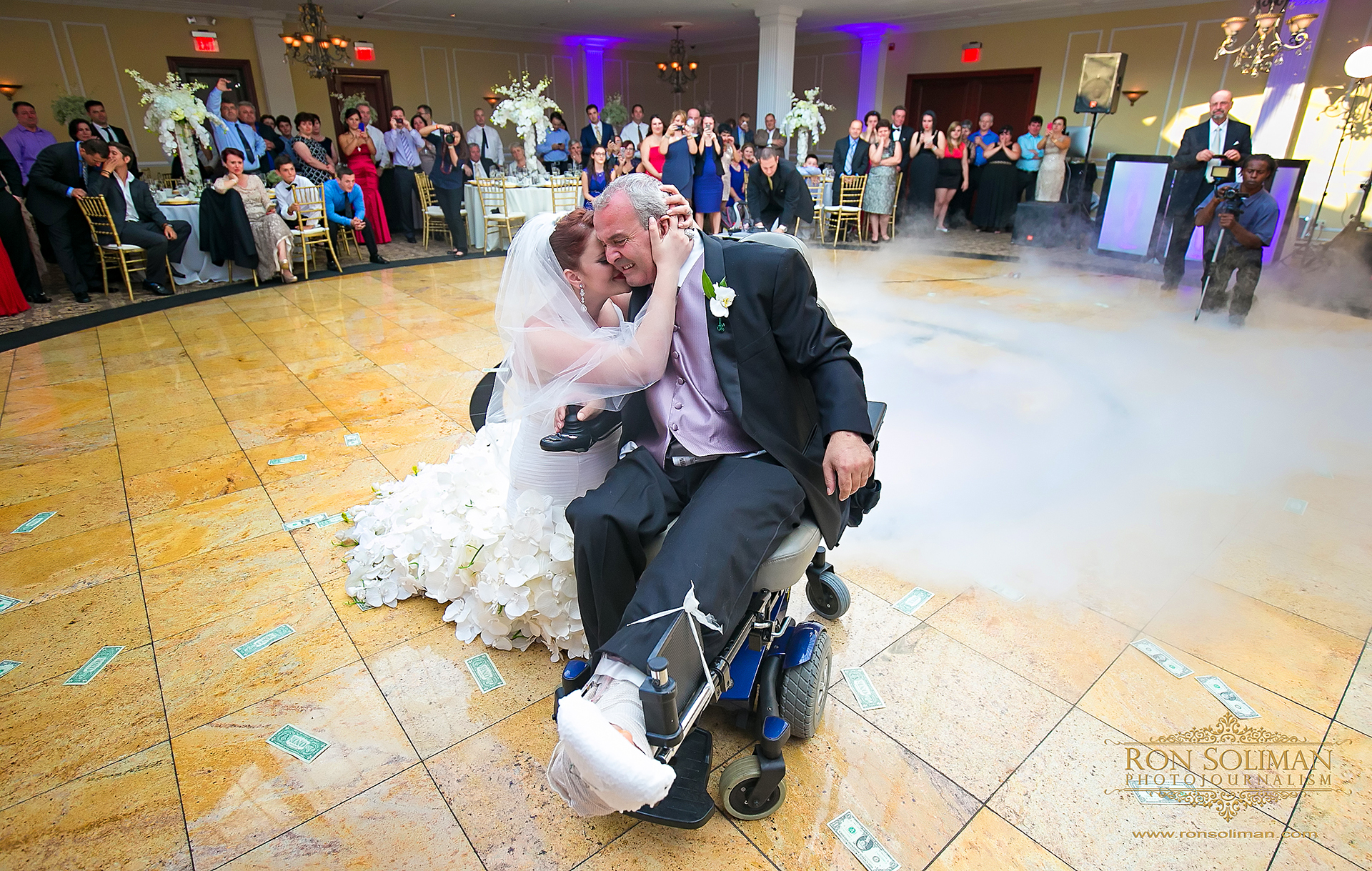 emotional father and daughter dance
