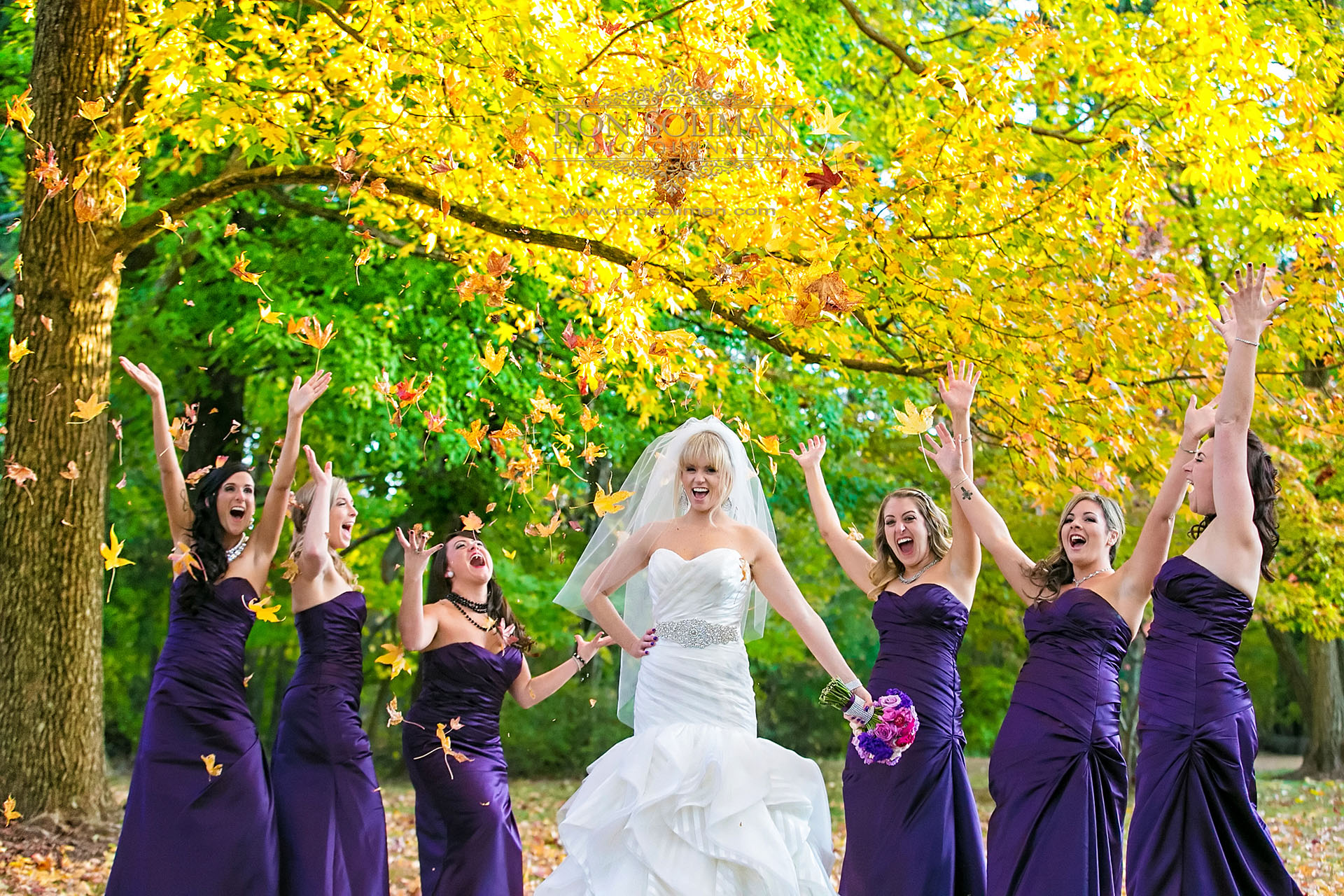best fall wedding photos