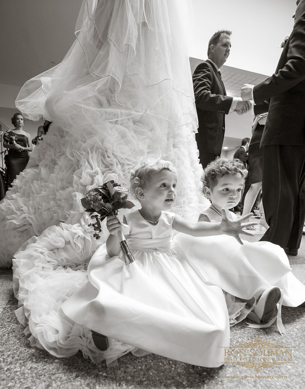 Corpus Christi Church wedding photo