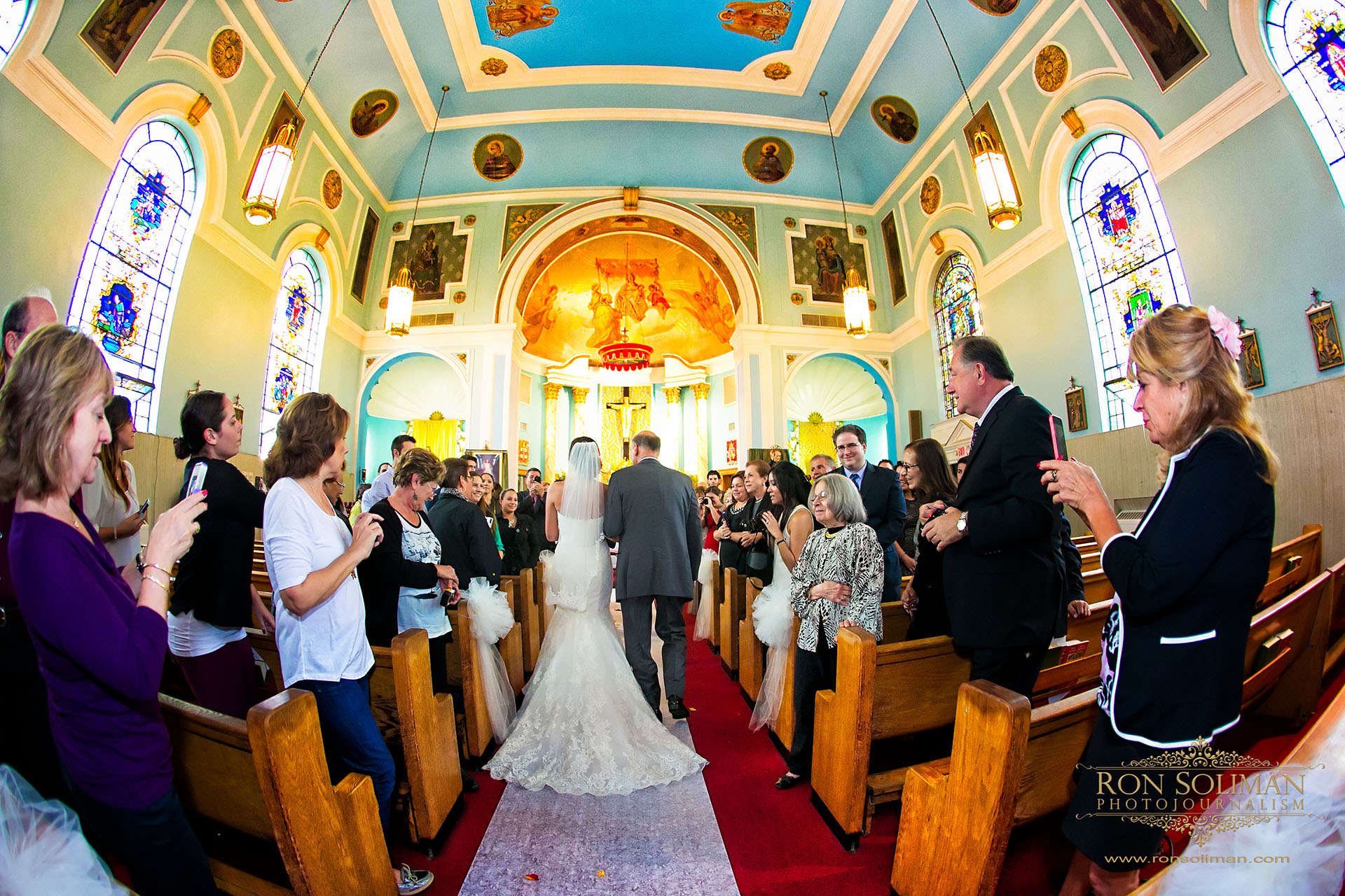 Our Lady of Mount Carmel Church wedding
