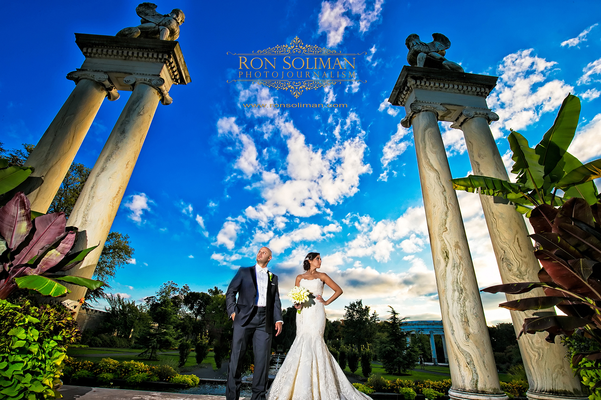 Untermyer Gardens wedding
