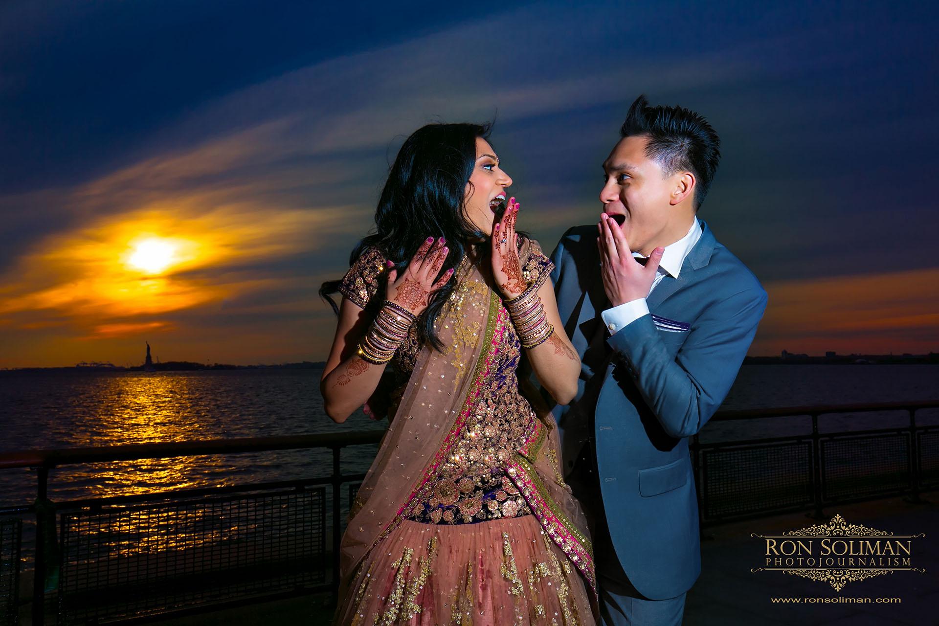 Indian wedding in New York