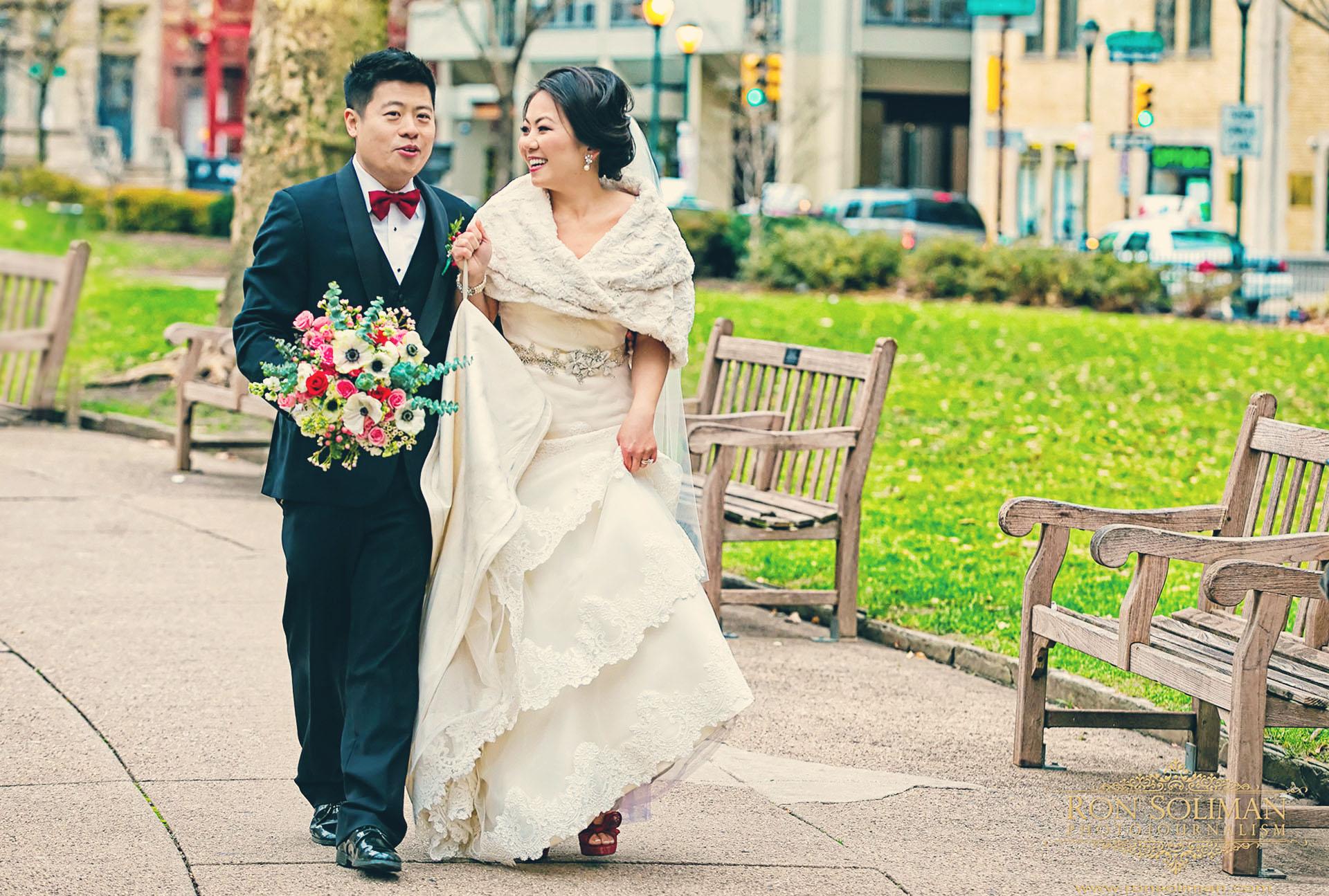 Rittenhouse square wedding