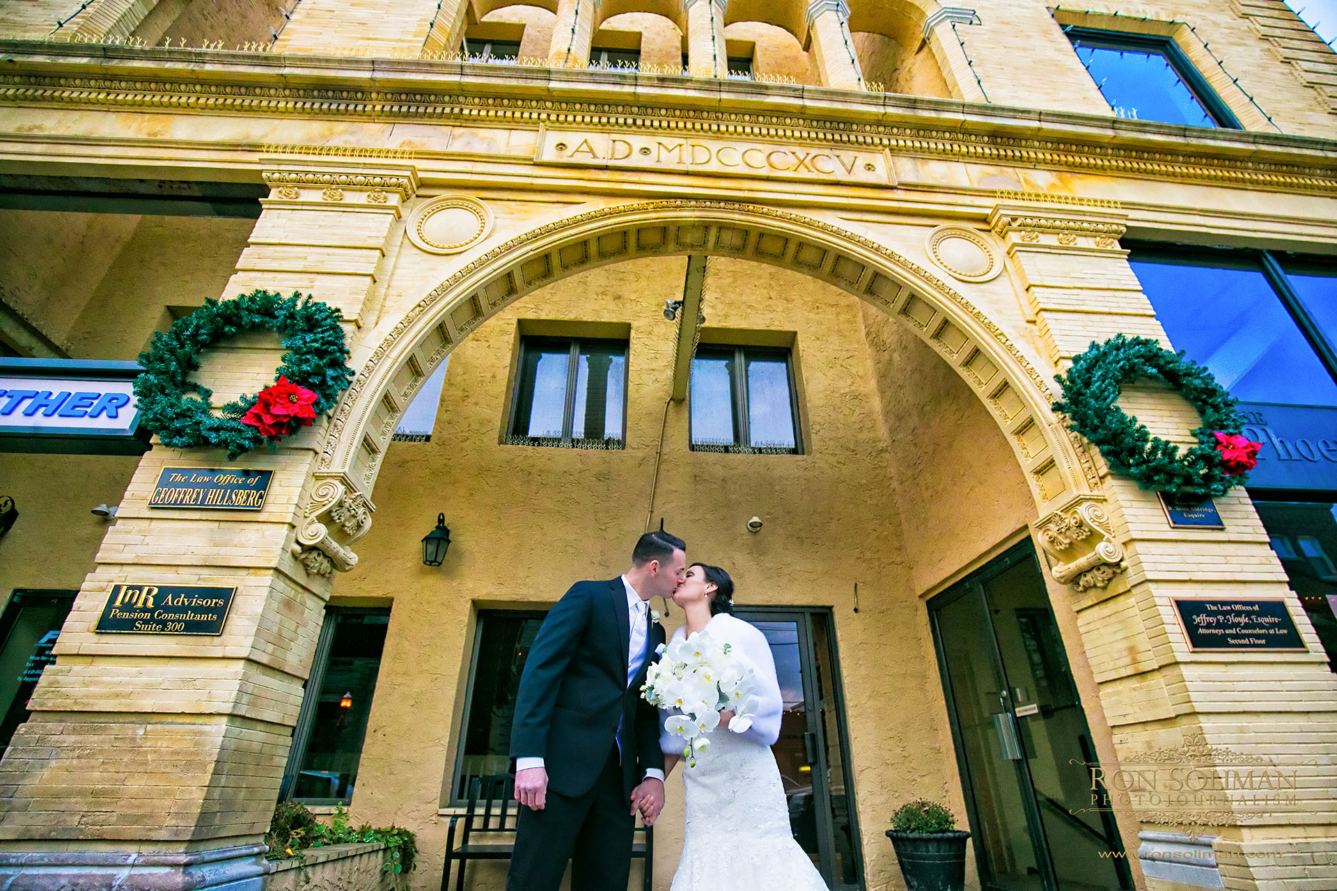 Media Pennsylvania Courthouse wedding photos