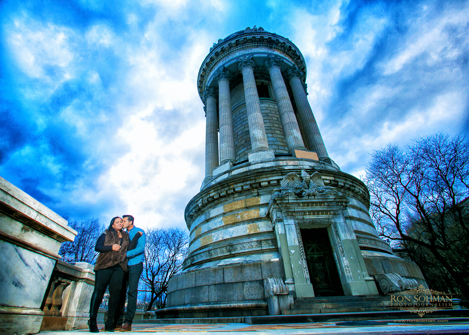 New York Upper West Side engagement photos