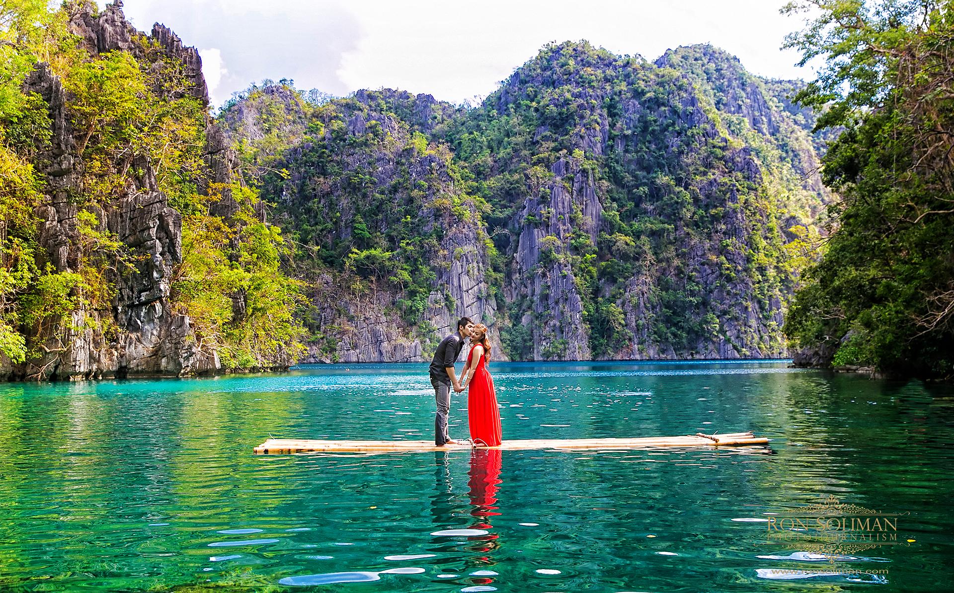 Kayangan Lake engagement photos