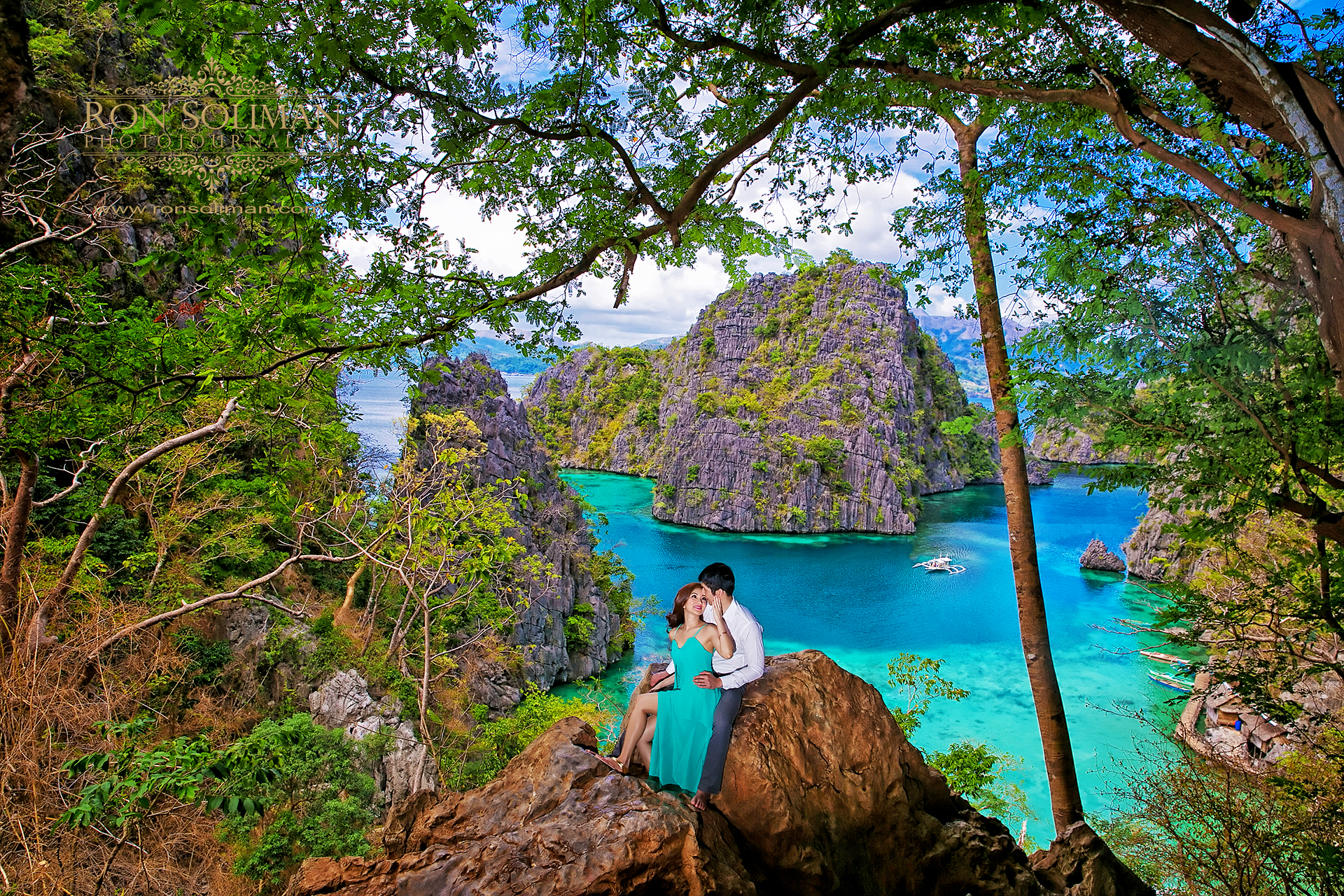 congrats to jackie amp ivan coron islands palawan philippines