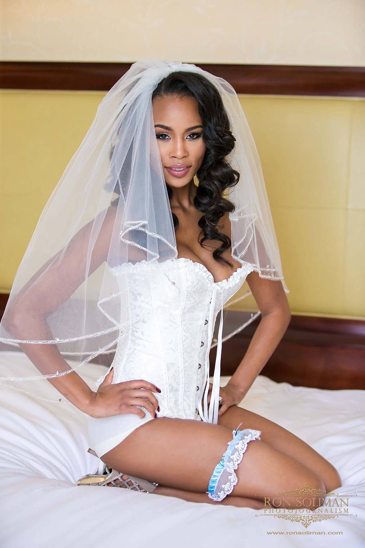 wedding day boudoir