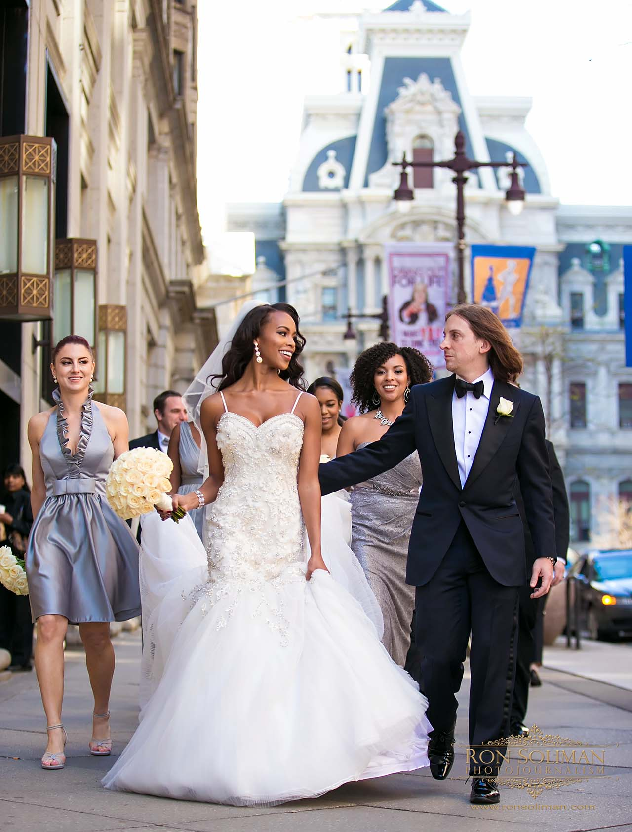 Philadelphia celebrity wedding