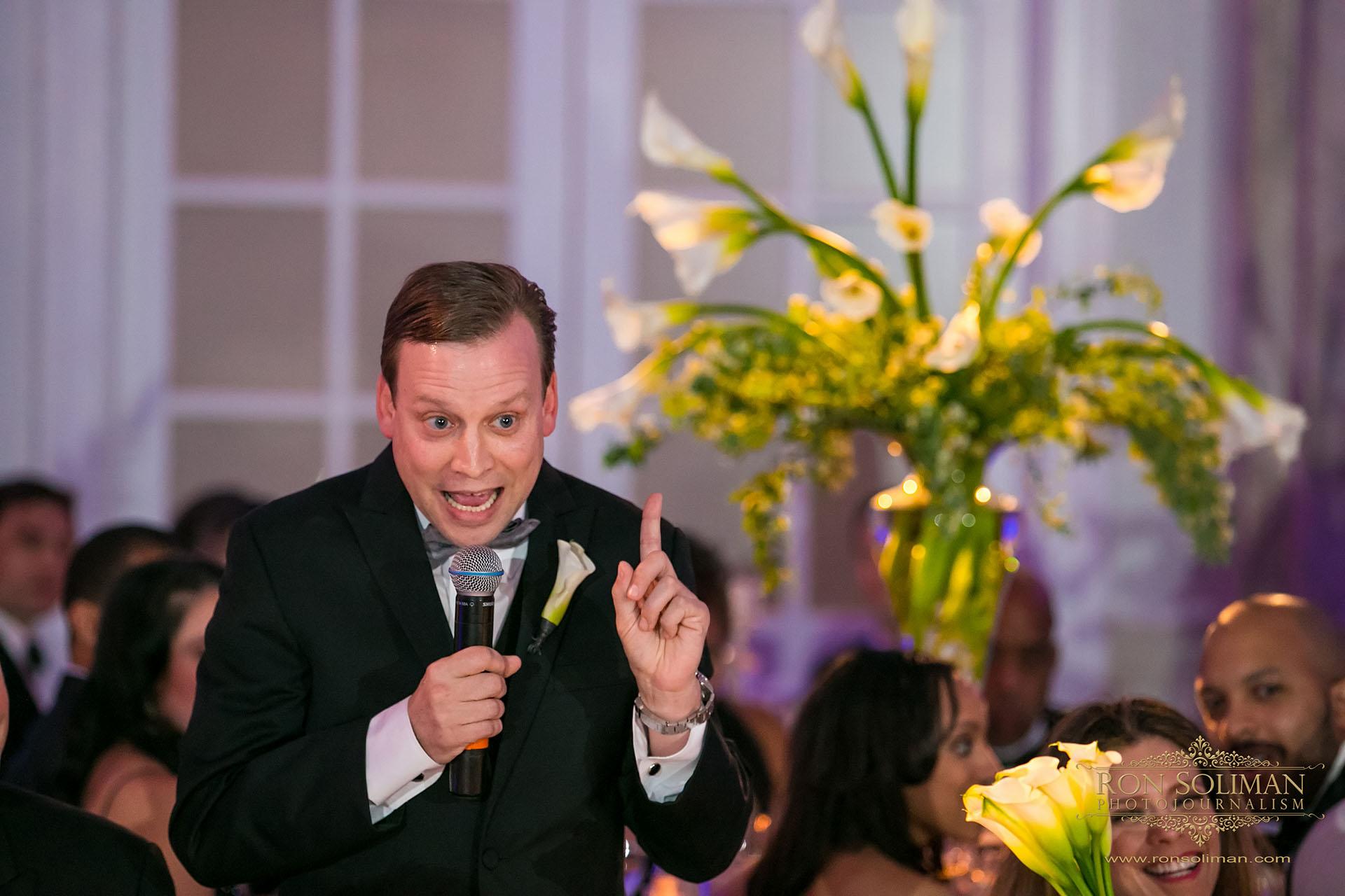 Ritz Carlton Wedding Philadelphia ballroom