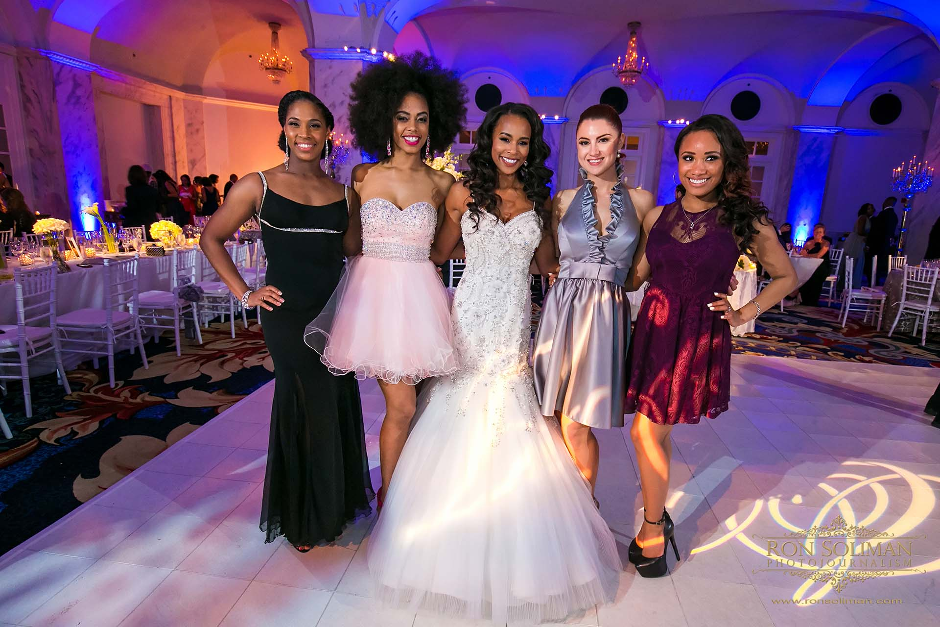 Philadelphia 76ers Sixers dancers wedding