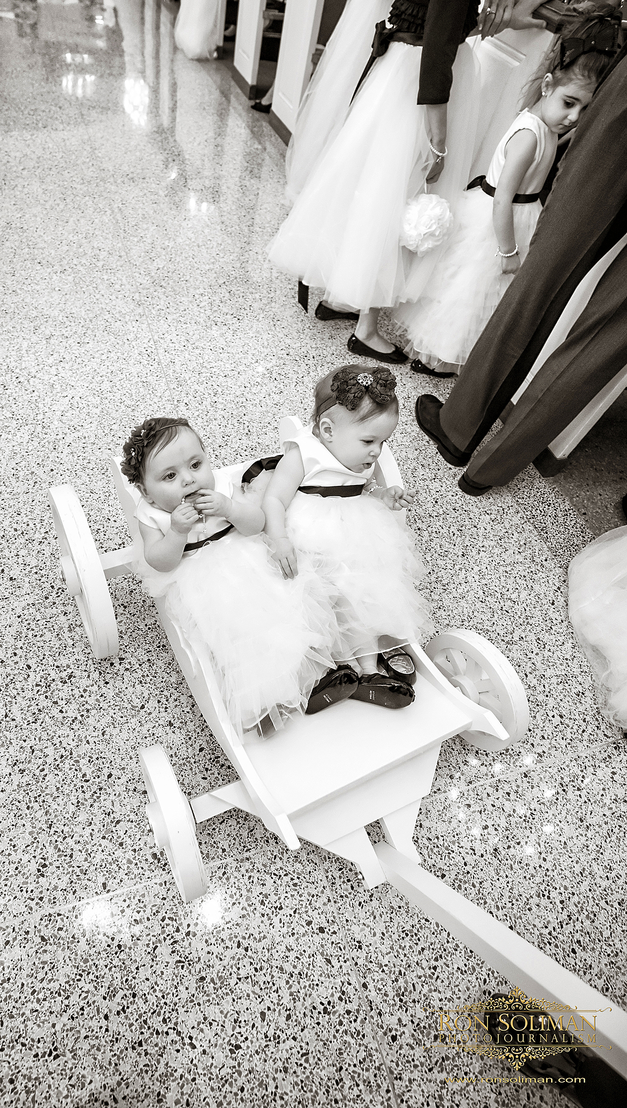 flower girls wagon