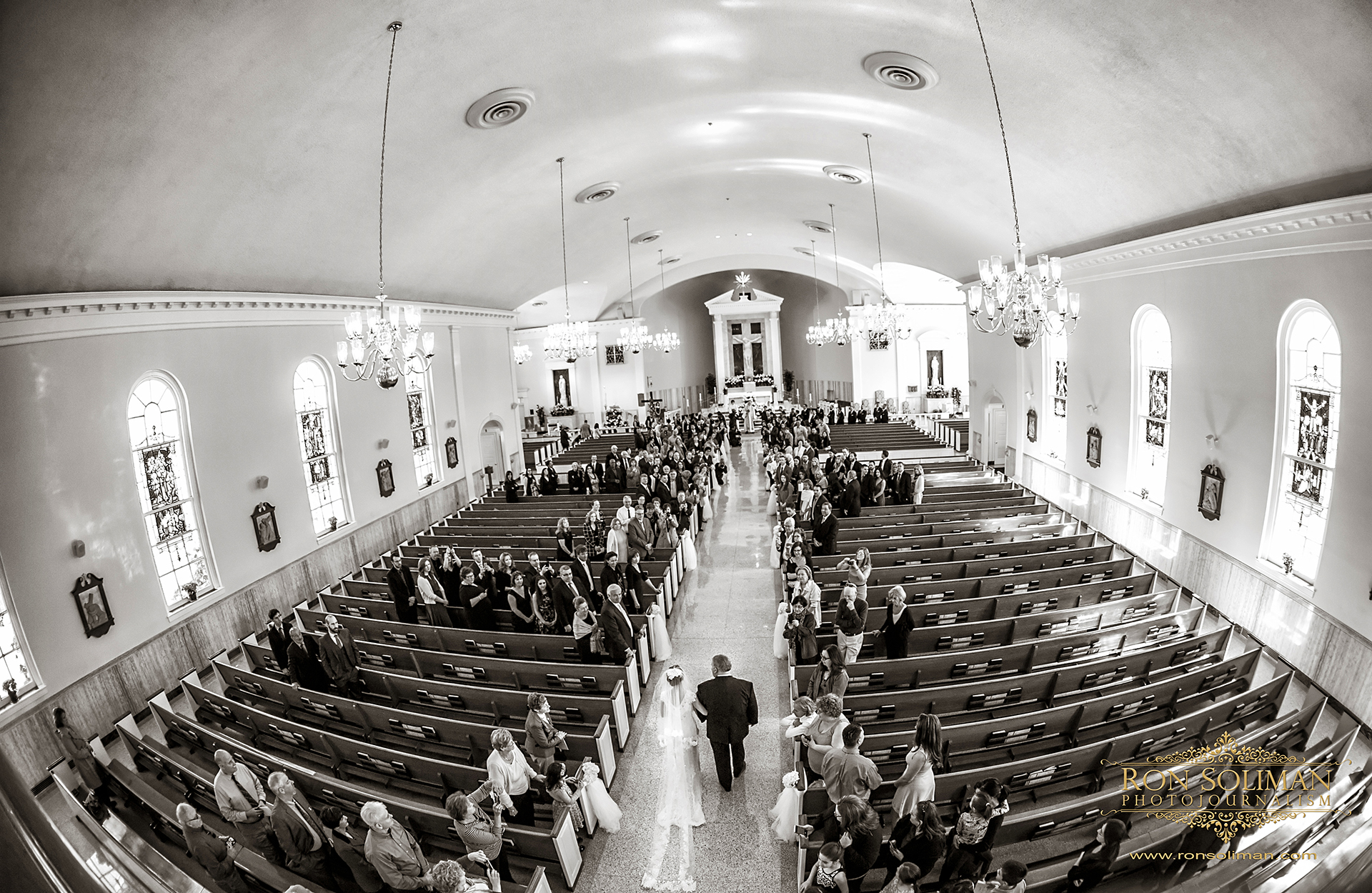 St. Dorothy Church wedding photos Drexel Hill